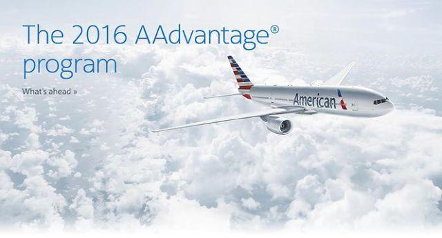 AAdvantage 2016 Program