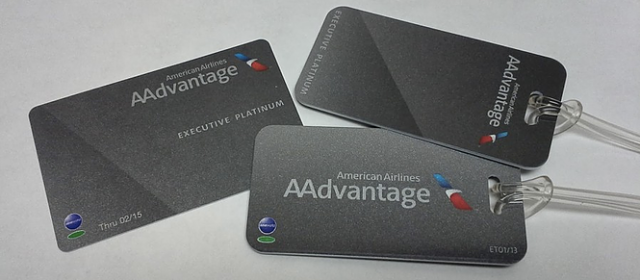 AAdvantage EXP Card and Tags