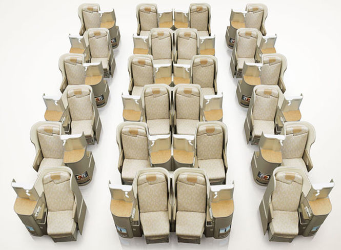 Asiana Airlines Business Class Layout