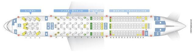 BA 772 Seatmap