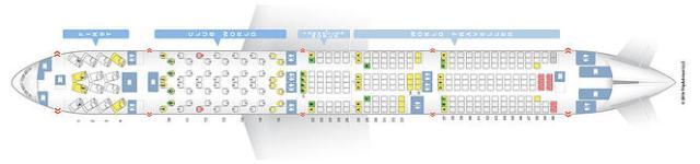 BA 773 Seatmap