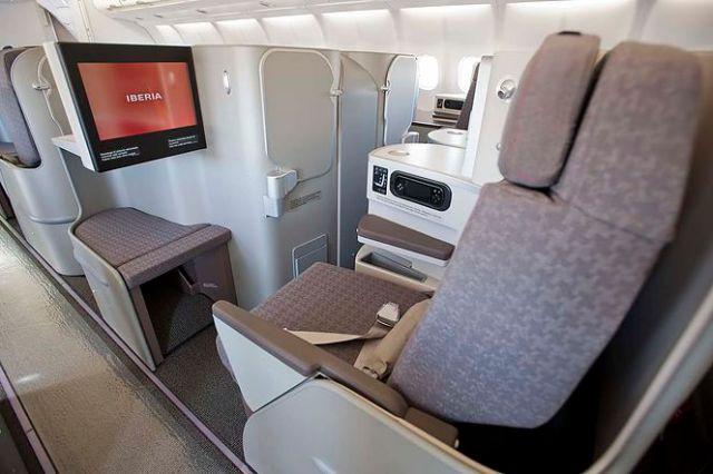 Iberia New Busines Class Seats 2