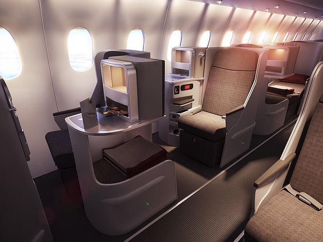 Iberia New Business Class Seats