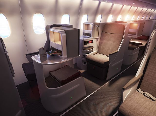 Iberia New Business Class Seats