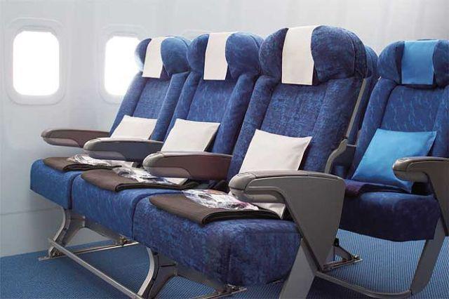 Seat on a Plane