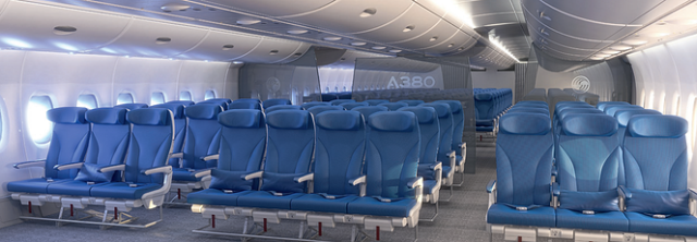 Ten Seats in a Row on A380