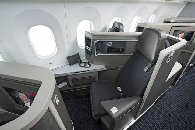 American Boeing 787 Business Class 2