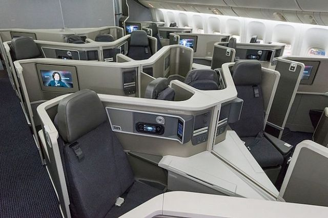 American Boeing 787 Business Class