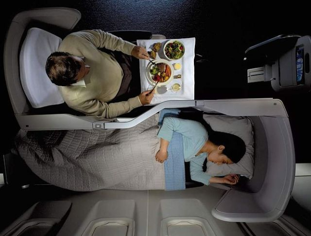 British Airways Business Class 2