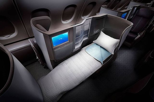 British Airways Business Class 3