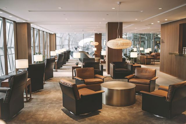 Cathay Pacific Business Class Lounge BKK
