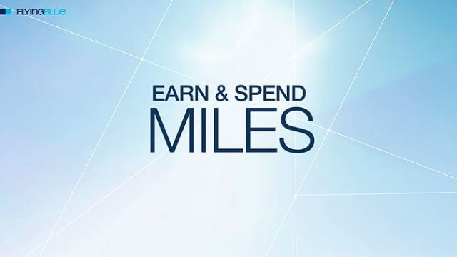 Earn & Spend Miles FlyingBlue