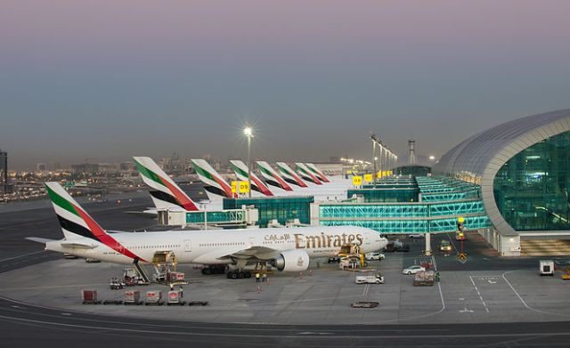 Emirates Planes at DXB