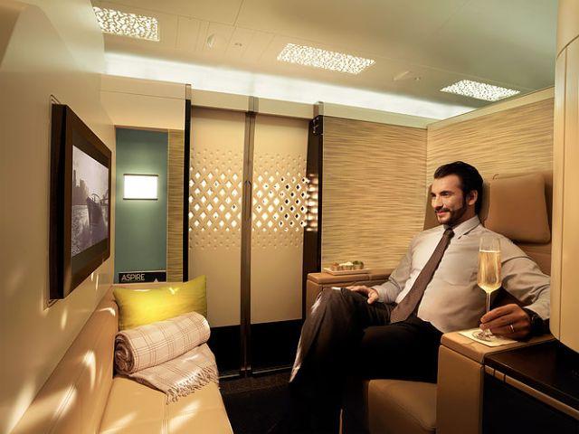 Etihad Airways A380 First Class Apartment 2