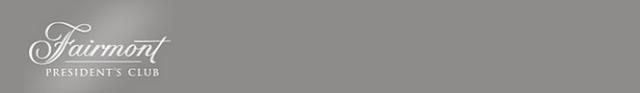 Fairmont Presidents Club Logo Gray