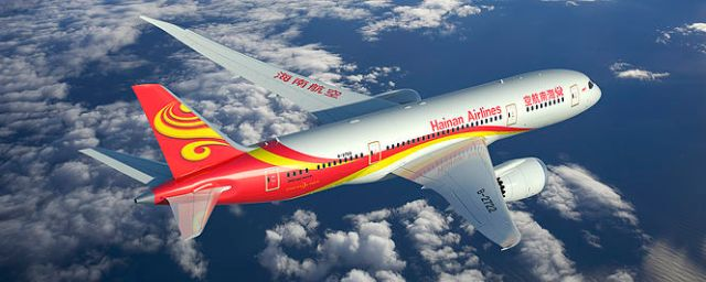 HNA Hainan Airlines 787-8 Artwork