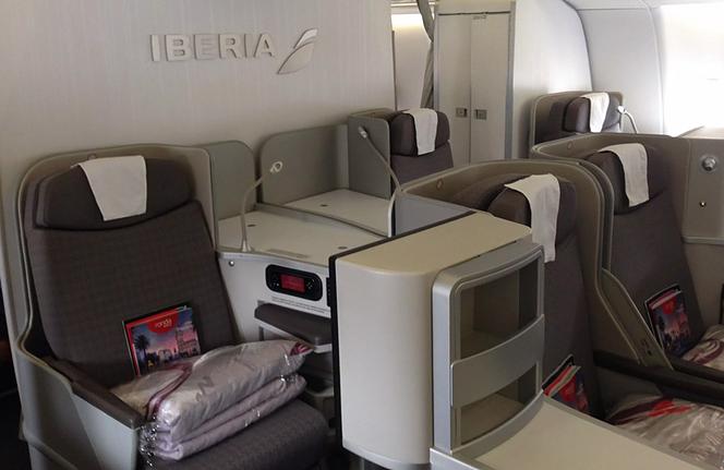 Iberia Bueinss Class 3