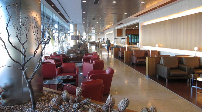 Iberia Business Class Lounge Madrid Airport