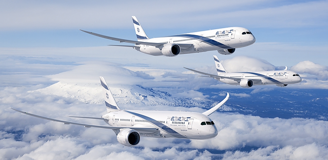 Three Dreamliners in ElAl Livery