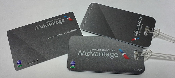 AAdvantage Executive Platinum Tags