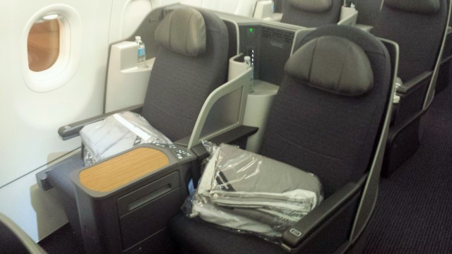 American A321T Bueiness Class