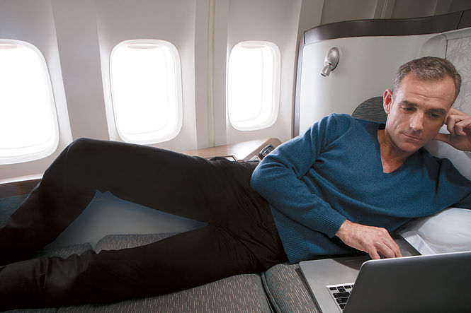 Cathay Pacific First Class - Wide Seat