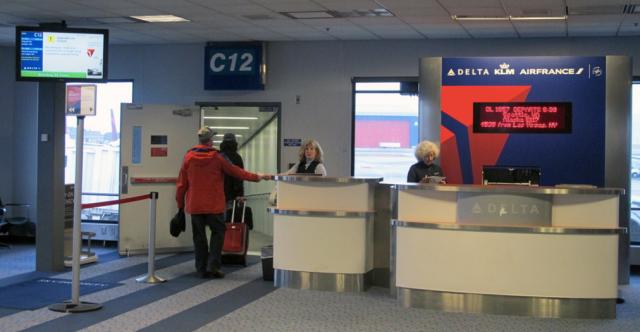 Delta Flight Gate Closes