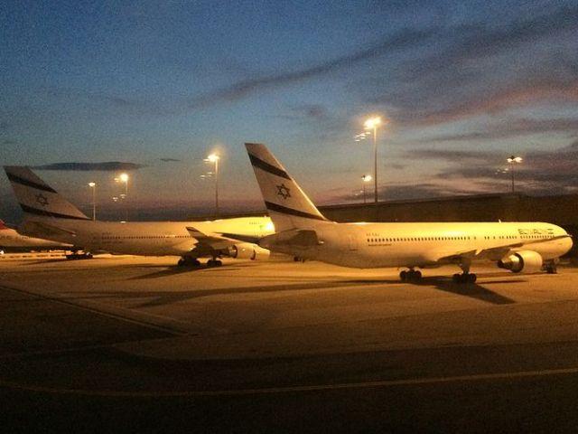 ElAl Planes at BKK Airport