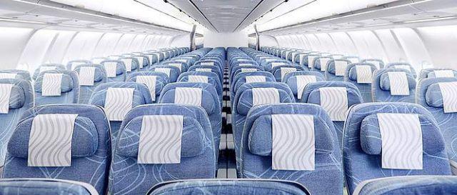 Finnair Economy Class Cabin