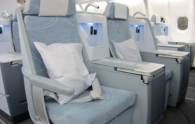 Finnair New Business Class Seats