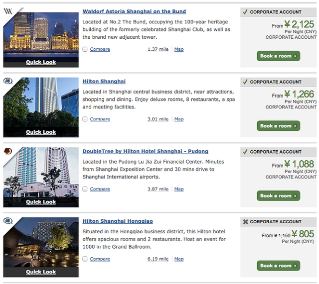 Hilton Sport Rate - Search Results