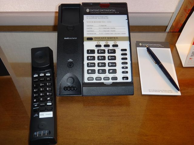 IC Chicago - Executive Suite - Telephone Unit