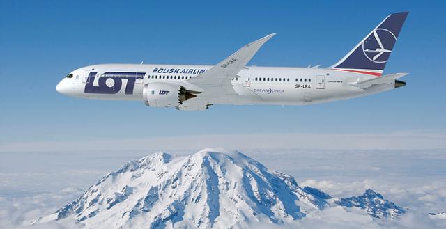 LOT Airlines Boeing 787-800 Dreamliner