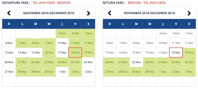 Air France 469$ Fare to Boston Nov-Dec