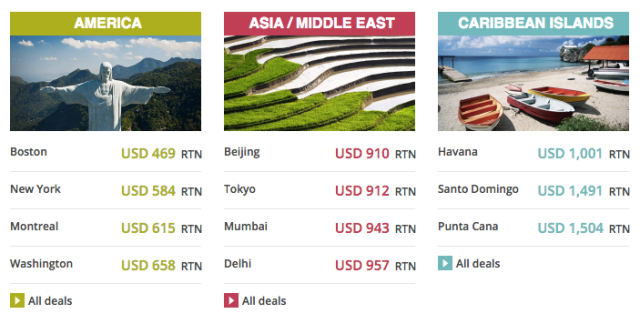 Air France Promotion Fares - May 2016