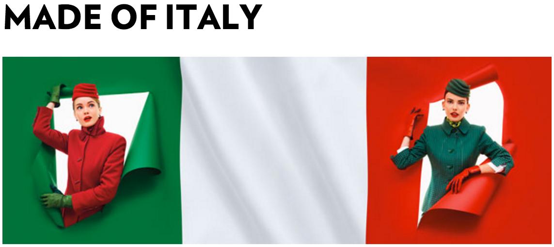 Alitalia 2016 New Uniforms