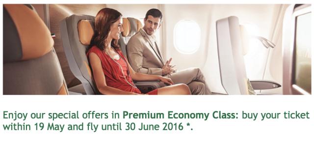 Alitalia Premium Economy Ad