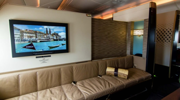 Etihad Airways A380 First Class Apartmanet
