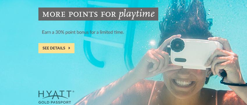Hyatt Gold Passport Buy Points Promotion - May 16