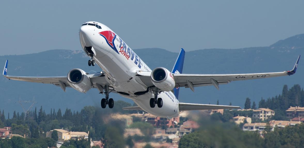 Travel Service Plane