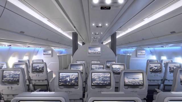Finnair A350 Economy Class Seats