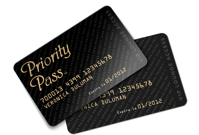 Priority Pass Cards