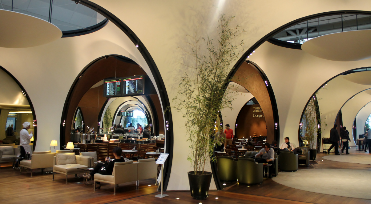 Turkish Airlines Bueiness Class Lounge (Star Gold) at Ataturk Airport