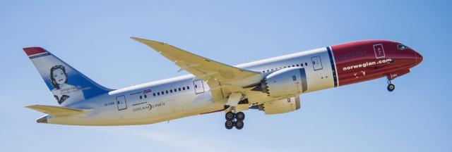 Norwegian Air 787-8 Dreamliner