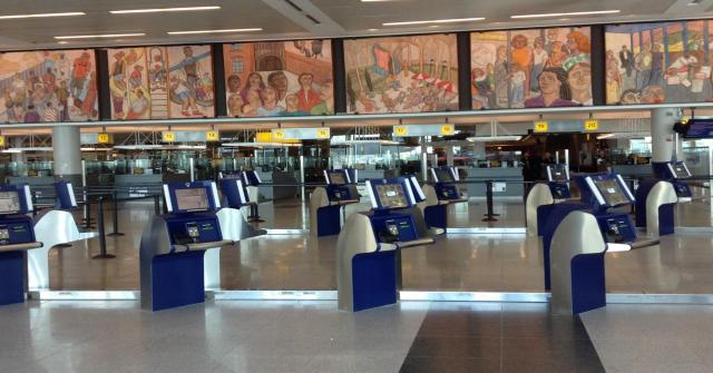 Passport Kiosks JFK