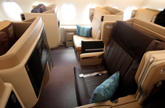 Singapore Airlines Busines Class