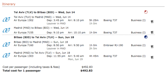 TLV-BIO June17 for 490$ with UX