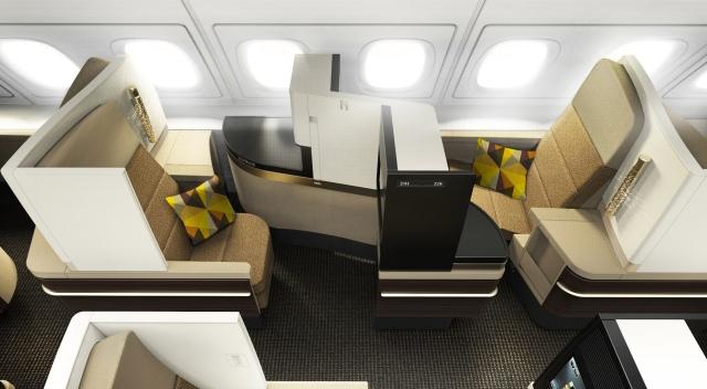 Etihad Boeing 787-9 Business Class 2