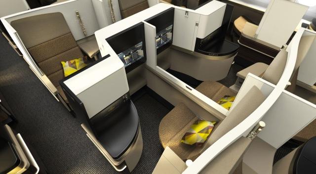 Etihad Boeing 787-9 Business Class