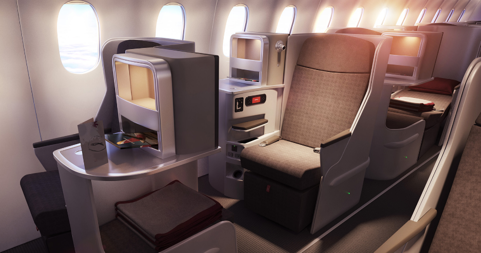 Iberia International Business Class Seat